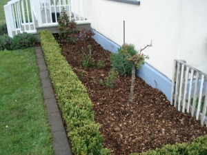 Garden after Mulch